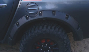 Fender Flares for Mitsubishi L200 full