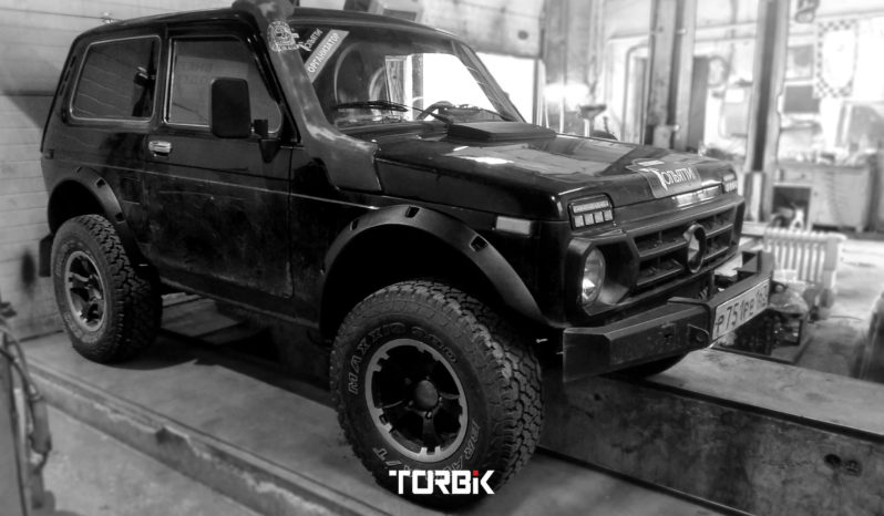 fender flares LADA NIVA 4×4 3D cutted full