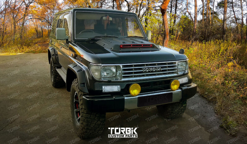 РАСШИРИТЕЛИ АРОК TOYOTA LAND CRUISER (TLC 78,TLC 79) full